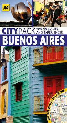 Buenos Aires - AA CityPack Guides (Paperback)