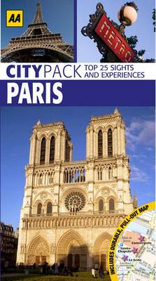 Paris - AA CityPack Guides (Paperback)