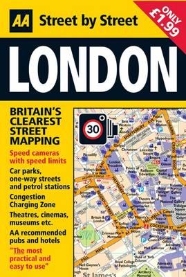 London - AA Street by Street (Sheet map, folded)