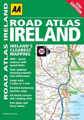 AA Road Atlas Ireland (Paperback)