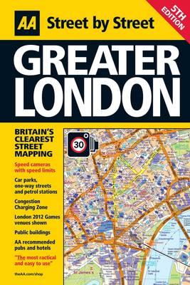 Greater London - AA Street by Street (Hardback)