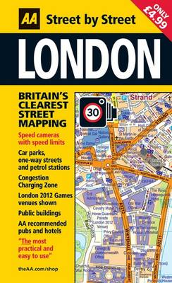 London Mini - AA Street by Street (Paperback)