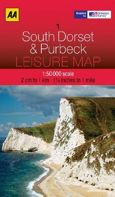 South Dorset and Purbeck - AA Leisure Maps 1 (Sheet map, folded)