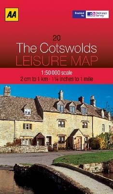 The Cotswolds - AA Leisure Maps 20 (Sheet map, folded)