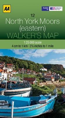 North York Moors (Eastern) - Walker's Map (Sheet map, folded)