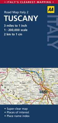 Tuscany (Sheet map, folded)