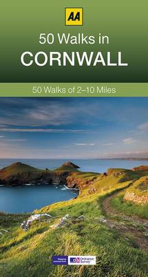 50 Walks in Cornwall - AA 50 Walks Series (Paperback)