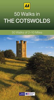 50 Walks in Cotswolds - AA 50 Walks Series (Paperback)