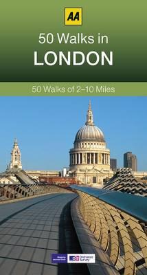 50 Walks in London - AA 50 Walks Series (Paperback)