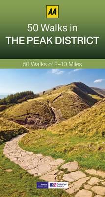 50 Walks in Peak District - AA 50 Walks Series (Paperback)