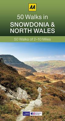 50 Walks in Snowdonia - AA 50 Walks (Paperback)