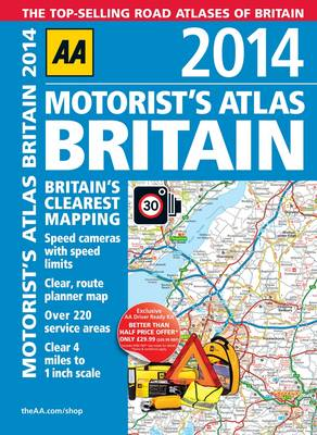 AA Motorist's Atlas Britain 2014 (Spiral bound)
