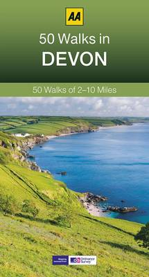 50 Walks in Devon - AA 50 Walks (Paperback)