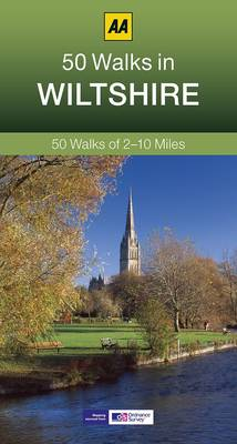 50 Walks in Wiltshire - AA 50 Walks (Paperback)