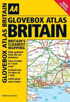 AA Glovebox Atlas Britain (Paperback)