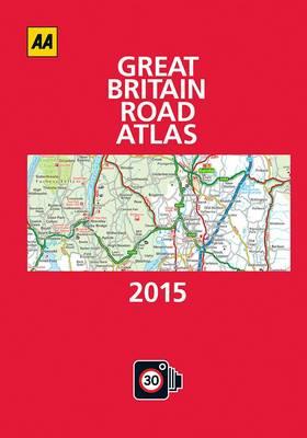 Great Britain Road Atlas 2015 (Hardback)