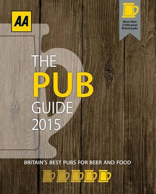The Pub Guide 2015 - AA Lifestyle Guides (Paperback)
