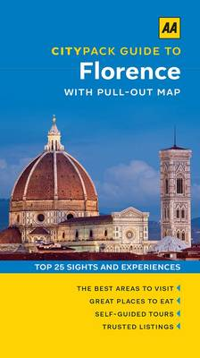 Citypack Guide Florence with pull-out map