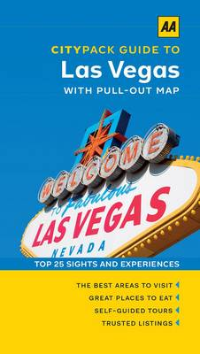Las Vegas - AA CityPack Guides (Paperback)