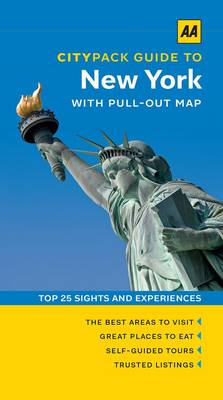 New York - AA CityPack Guides (Paperback)