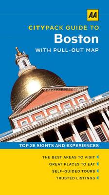 Boston - AA CityPack Guides (Paperback)