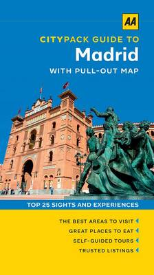 Madrid - AA CityPack Guides (Paperback)