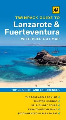 Lanzarote & Fuerteventura - AA Twinpack Guides (Paperback)