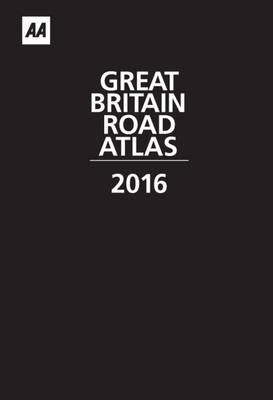 AA Great Britain Road Atlas 2016 (Leather) (Leather / fine binding)