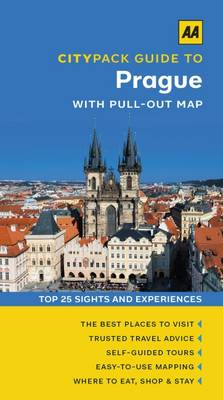 Prague - AA CityPack Guides (Paperback)