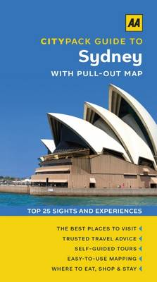 Sydney - AA CityPack Guides (Paperback)