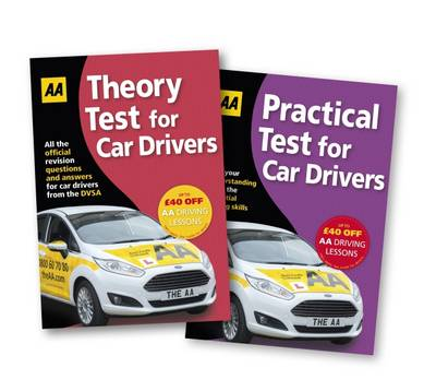 Theory Test & Practical Test Twin Pack: AA Driving Test (Paperback)