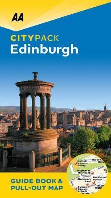 Edinburgh - AA CityPack Guides (Paperback)