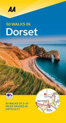 50 Walks in Dorset - AA 50 Walks (Paperback)