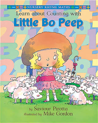 Learn About Counting with Little Bo Peep - Nursery Rhyme Maths (Hardback)