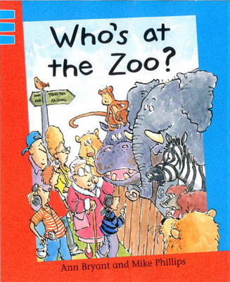 Who's at the Zoo?: Blue level 3 - Reading Corner 120 (Paperback)