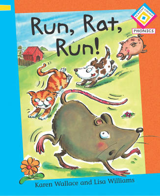 Run, Rat, Run! - Reading Corner Phonics 6 (Paperback)