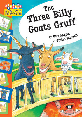 The Three Billy Goats Gruff - Hopscotch Fairy Tales (Paperback)