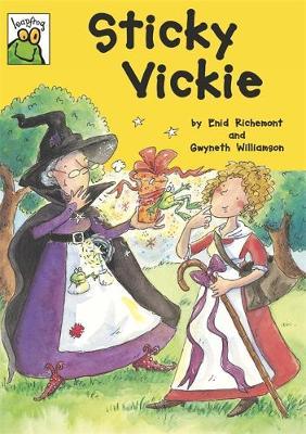 Sticky Vickie (Paperback)