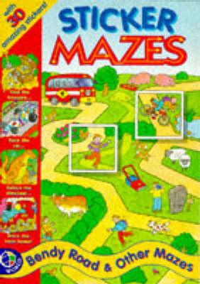 Bendy Road - Sticker Mazes S.