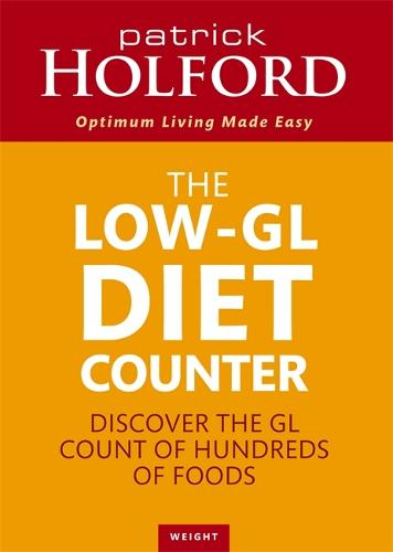 The Low-GL Diet Counter: Discover the GL count of hundreds of foods (Paperback)