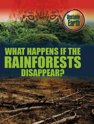 What Happens If the Rainforests Disappear? - Unstable Earth 4 (Hardback)