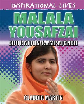 Malala Yousafzai - Inspirational Lives 24 (Hardback)