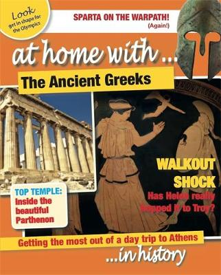 At Home With: The Ancient Greeks - At Home With (Paperback)