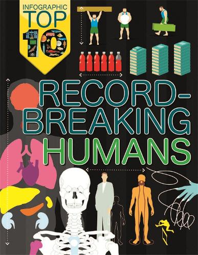 Infographic: Top Ten: Record-Breaking Humans - Infographic: Top Ten (Paperback)