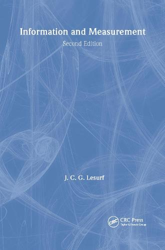 Information and Measurement - Series in Measurement Science and Technology (Paperback)