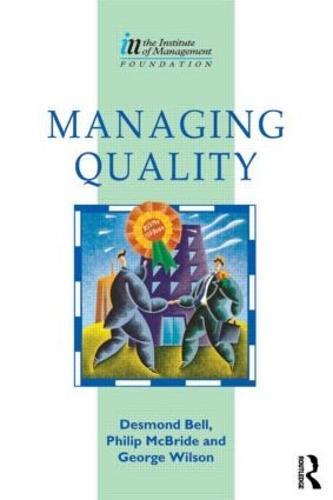 Managing Quality (Paperback)