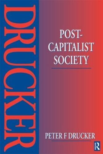 Post-Capitalist Society (Paperback)