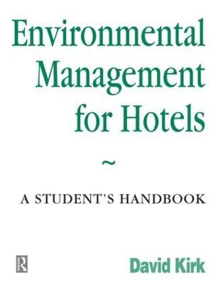 Environmental Management for Hotels (Paperback)