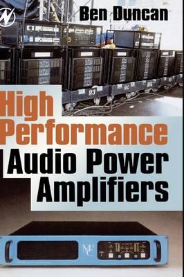 High Performance Audio Power Amplifiers (Hardback)