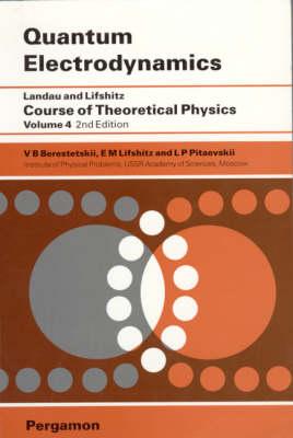 Quantum Electrodynamics: Volume 4 (Paperback)